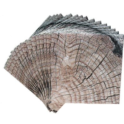 Cut Timber Beverage Napkins - 16 pack