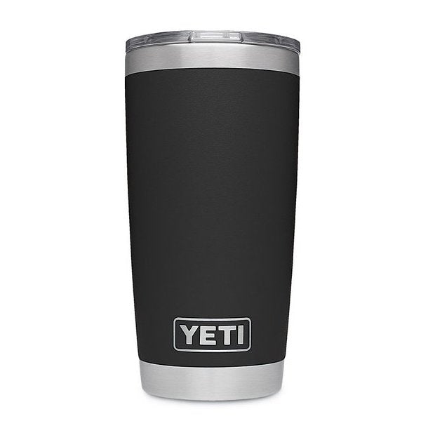 YETI 20 oz. Rambler-HUNTING/OUTDOORS-BLACK-Kevin's Fine Outdoor Gear & Apparel