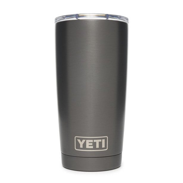 YETI 20 oz. Rambler-HUNTING/OUTDOORS-GRAPHITE-Kevin's Fine Outdoor Gear & Apparel
