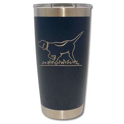Kevin's Custom Yeti Rambler 20 Oz.-HUNTING/OUTDOORS-NAVY-POINTER-Kevin's Fine Outdoor Gear & Apparel