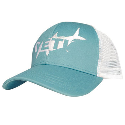 Yeti Tarpon Trucker Hat-MENS CLOTHING-TEAL-Kevin's Fine Outdoor Gear & Apparel