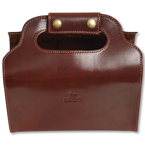 Kevin's Leather Shell Bag