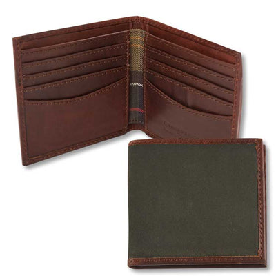 Barbour Drywax Billfold Wallet