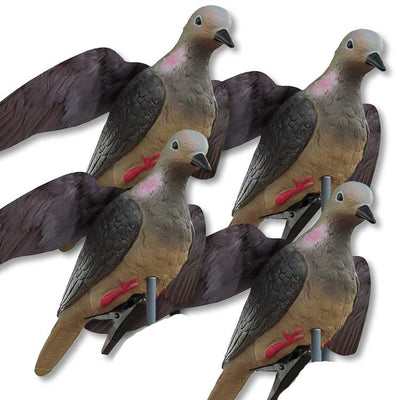 WING - IT - DOVE DECOY 4 -PACK