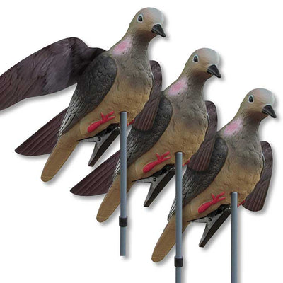 WING - IT - DOVE DECOY 3 -PACK