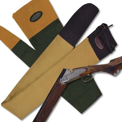 Kevin's Canvas & Suede Shotgun Sheath-HUNTING/OUTDOORS-Kevin's Fine Outdoor Gear & Apparel