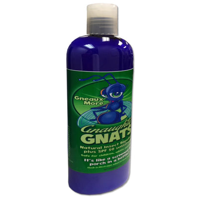 Gneaux More Gnaughty Gnats SPF 50 sunblock with natural insect repellent