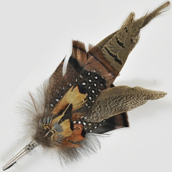 Susan Hunter Traditional European Feather Pin