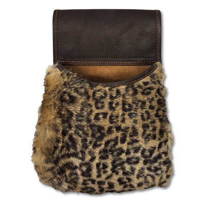 Kevin's Fur Leather Pouch