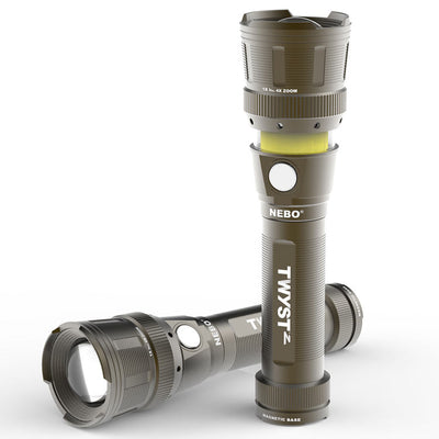 Nebo TWYST Z Work Light, Lantern, and Flashlight