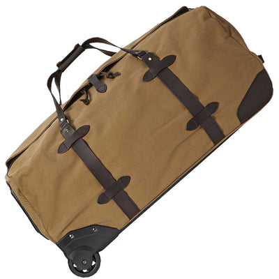 FILSON LARGE ROLLING DUFFLE-LUGGAGE-TAN-Kevin's Fine Outdoor Gear & Apparel