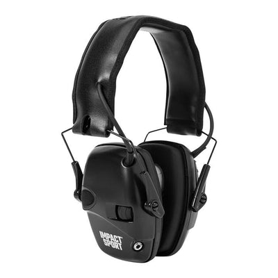 Impact Sport Electronic Earmuff w/ Deluxe Headband-HUNTING/OUTDOORS-Kevin's Fine Outdoor Gear & Apparel