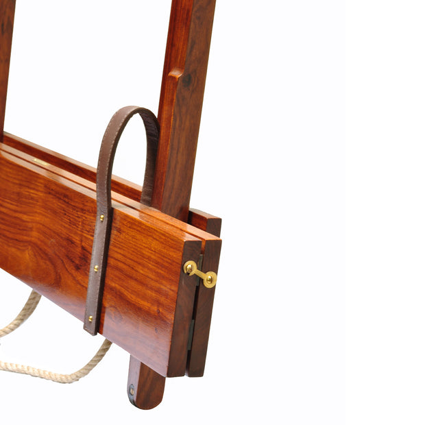 Campaign Furniture: Admiral Baker Folding Gun Rack