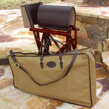 Campaign Furniture: Folding Saloon Chair Case