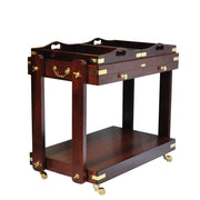 Campaign Furniture: Savoy Service Trolley