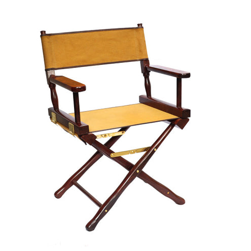 Campaign Furniture: Anderson Canvas Safari Chair