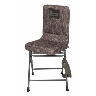 Banded Swivel Blind Chair