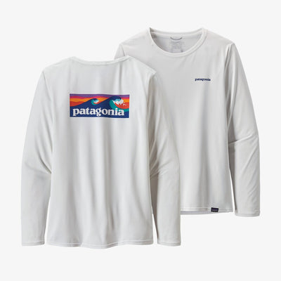 Patagonia Ladies Cap Cool Daily Graphic Shirt-WOMENS CLOTHING-Board Short Logo-XS-Kevin's Fine Outdoor Gear & Apparel