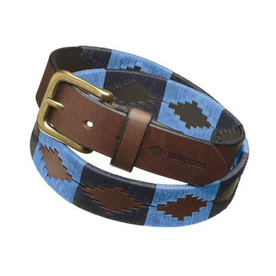 "Pampeano Azules Polo Belt-Men's Accessories-Pampeano-BLUE/INK BLUE-85/30""-Kevin's Fine Outdoor Gear & Apparel"