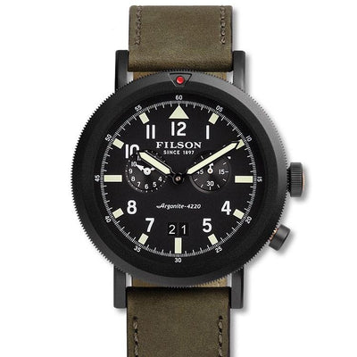 Filson The Scout Dual Time Watch