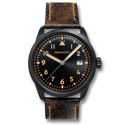 Szanto Mens Classic Vintage Inspired Watch
