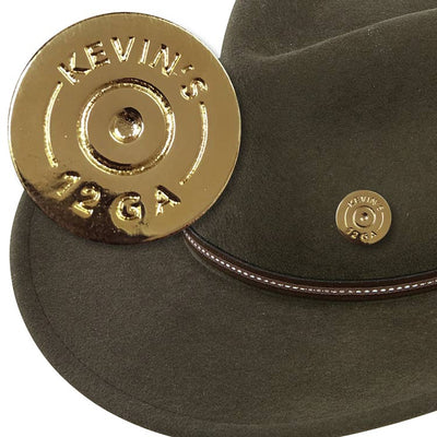 Kevin's Brass Shotshell Hat Pin