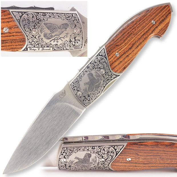 Kevin's Hand Engraved Viper Knife