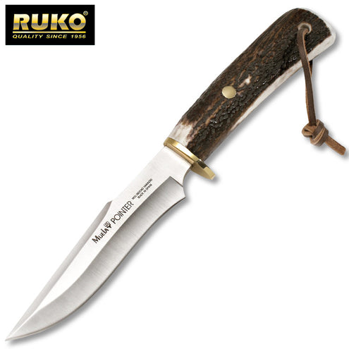Ruko Pointer 13A Deer Horn Hunting Knife