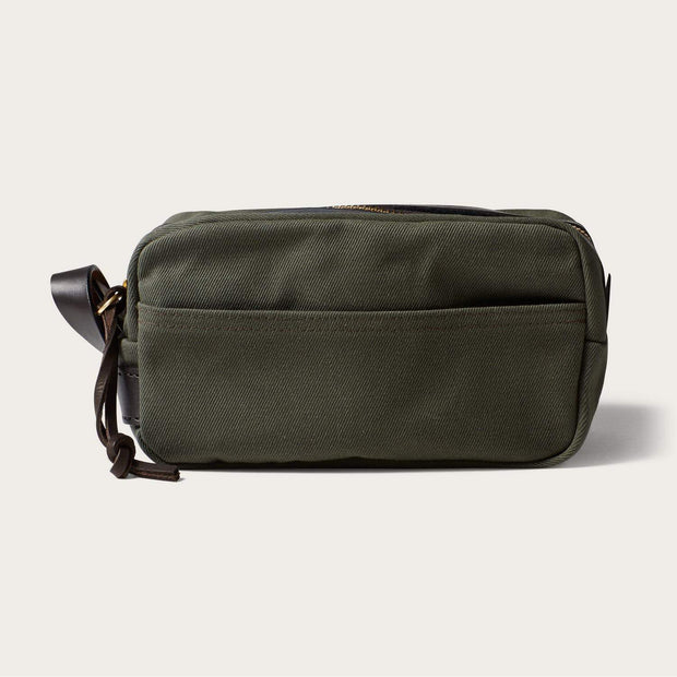 Filson Twill Travel Kit-LUGGAGE-FILSON-OTTER GREEN-Kevin's Fine Outdoor Gear & Apparel