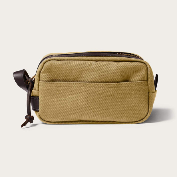 Filson Twill Travel Kit-LUGGAGE-FILSON-TAN-Kevin's Fine Outdoor Gear & Apparel