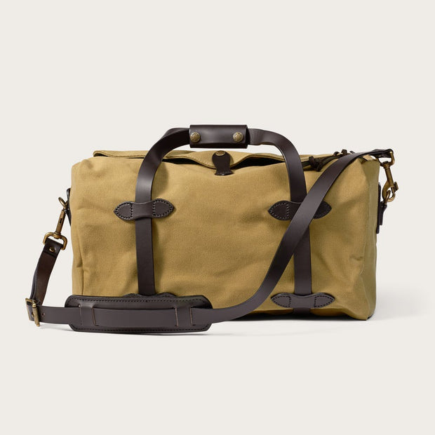 Filson Small Duffle Bag-LUGGAGE-FILSON-TAN-Kevin's Fine Outdoor Gear & Apparel