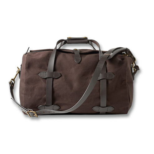 Filson Small Duffle Bag-LUGGAGE-FILSON-BROWN-Kevin's Fine Outdoor Gear & Apparel