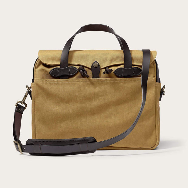 Filson Original Briefcase-LUGGAGE-FILSON-TAN-Kevin's Fine Outdoor Gear & Apparel