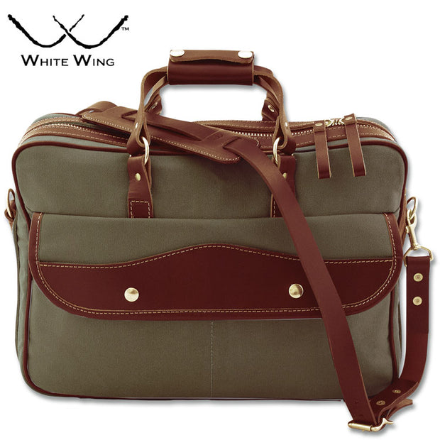 White Wing Briefcase