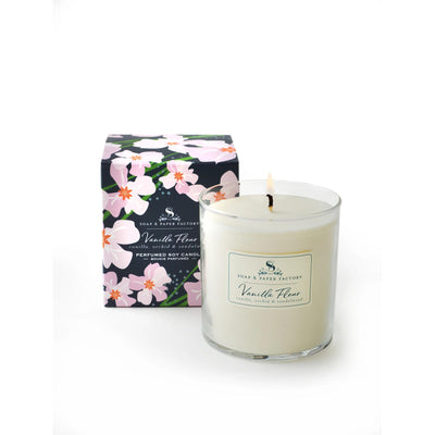 Vanilla Fleur Soy Candle-HOME/GIFTWARE-Single Wick 9.5oz-Kevin's Fine Outdoor Gear & Apparel
