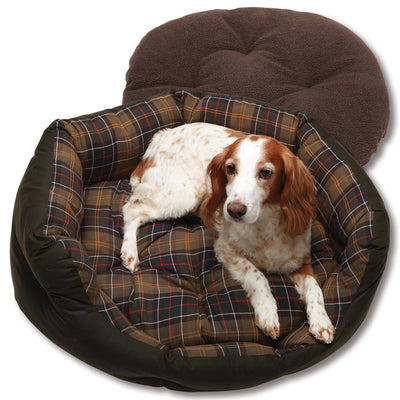 Barbour Wax/Cotton Dog Bed-PET SUPPLY-Kevin's Fine Outdoor Gear & Apparel