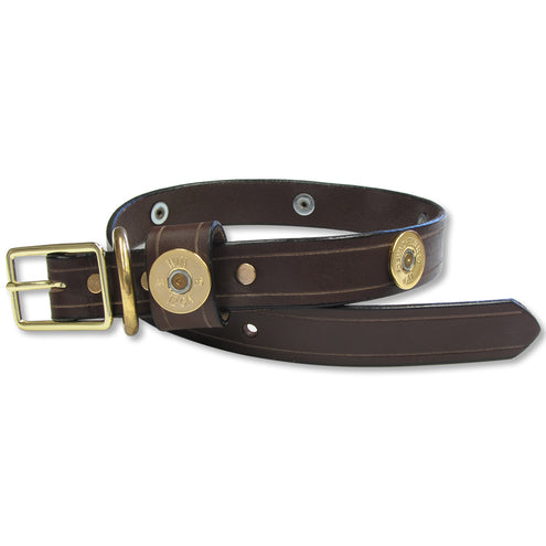 Leather Total Shotshell Dog Collar