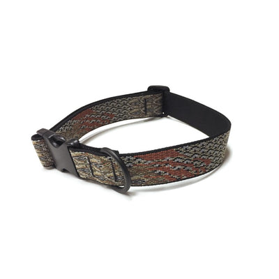 Kevin's Quail Feather Dog Collar