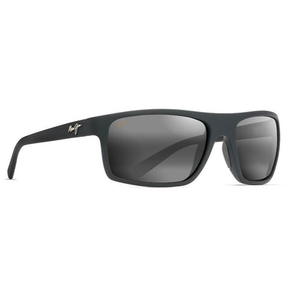 "Maui Jim ""Byron Bay"" Polarized Sunglasses-SUNGLASSES-Matte Black-Neutral Grey-Kevin's Fine Outdoor Gear & Apparel"