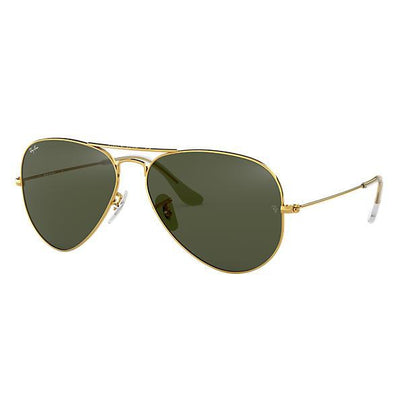 Ray Ban Aviator Classic Sunglasses-SUNGLASSES-Polarized Green-Gold-Kevin's Fine Outdoor Gear & Apparel