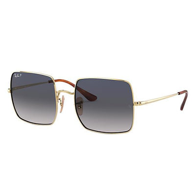 Ray Ban Rectangle 1971-SUNGLASSES-Gold-Brown Gradient-Kevin's Fine Outdoor Gear & Apparel