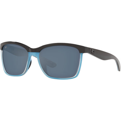 "Costa ""Anaa"" Polarized Sunglasses-SUNGLASSES-Black/Light Blue-Gray 580P-Kevin's Fine Outdoor Gear & Apparel"