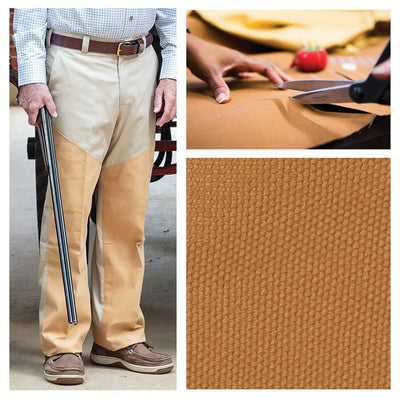 Custom Pant Facing (12 oz. Briar Guard Canvas)