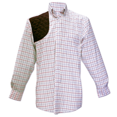Kevin's Performance Patriotic Tattersall Right Hand Shooting Shirt-MENS CLOTHING-Kevin's Fine Outdoor Gear & Apparel