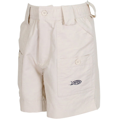 AFTCO Boys Original Fishing Short-CHILDRENS CLOTHING-Natural-20-Kevin's Fine Outdoor Gear & Apparel