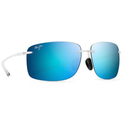 "Maui Jim ""Hema"" Polarized Sunglasses-SUNGLASSES-Matte Crystal-Blue Hawaii-Kevin's Fine Outdoor Gear & Apparel"