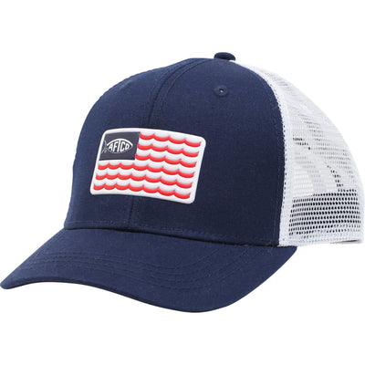 Aftco Canton Youth Trucker Cap-CHILDRENS CLOTHING-Navy-Kevin's Fine Outdoor Gear & Apparel