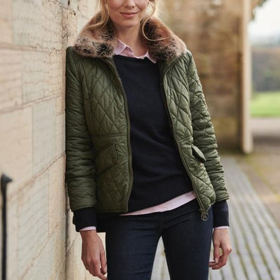Barbour Women's Hawthorns Quilted Jacket-WOMENS CLOTHING-Kevin's Fine Outdoor Gear & Apparel