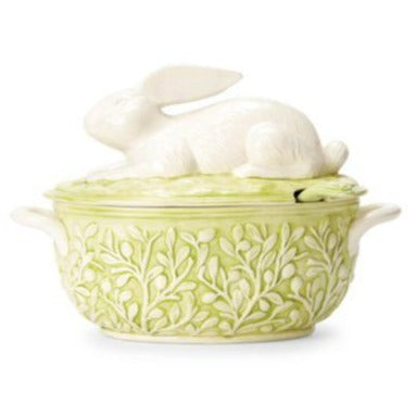 Bellezza Spring Bunny Soup Tureen-HOME/GIFTWARE-Kevin's Fine Outdoor Gear & Apparel