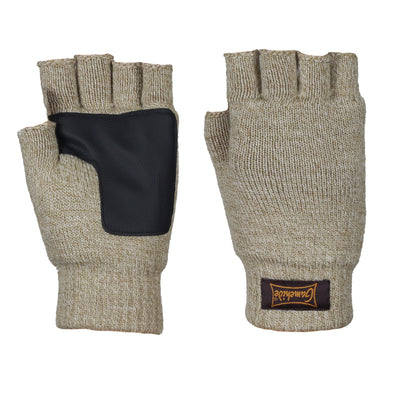 Gamehide Fingerless Knit Glove-Men's Accessories-Oatmeal-Kevin's Fine Outdoor Gear & Apparel